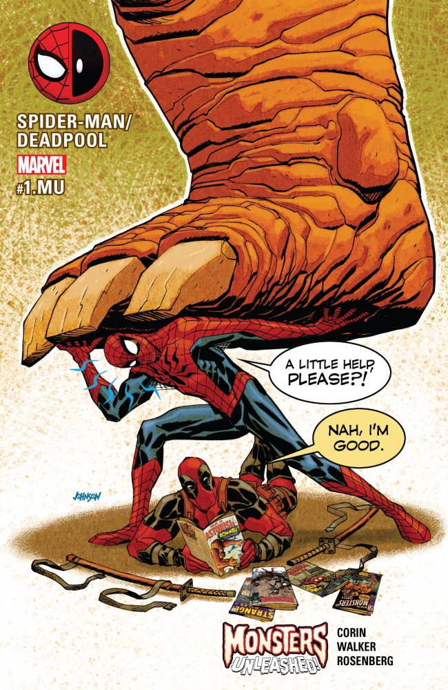 Spider-Man - Deadpool #1.MU