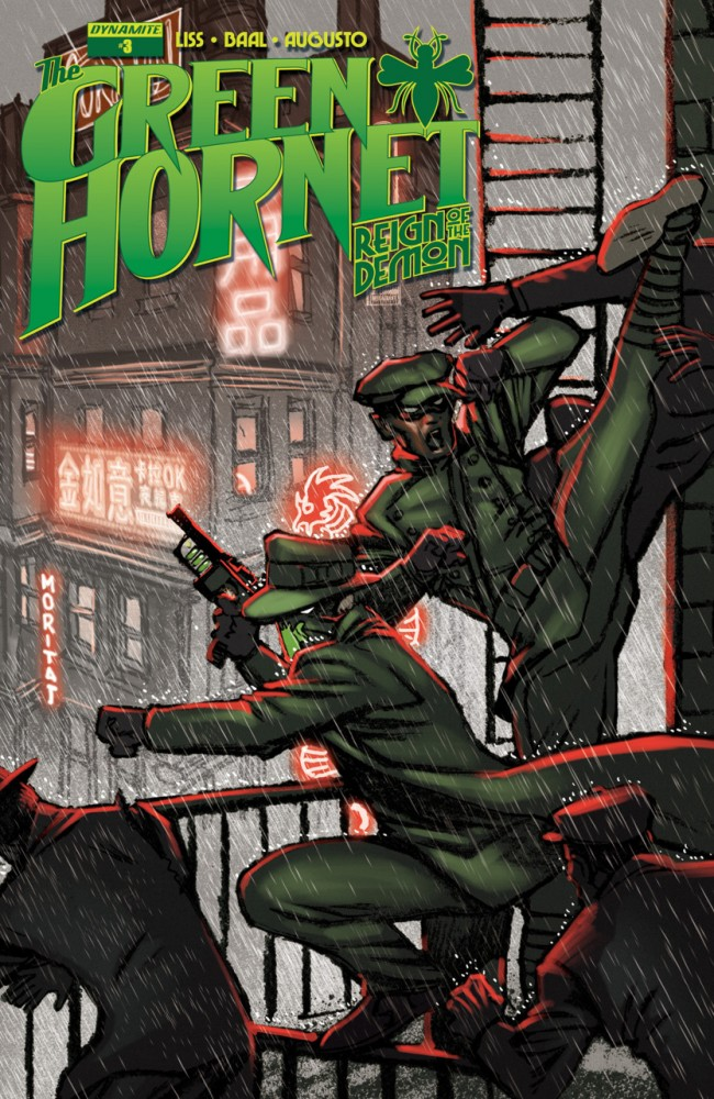The Green Hornet - Reign of the Demon #3