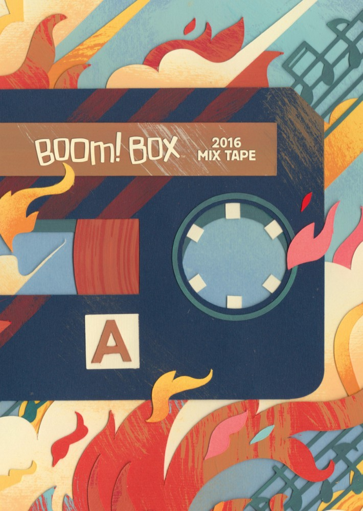 BOOM BOX 2016 Mix Tape