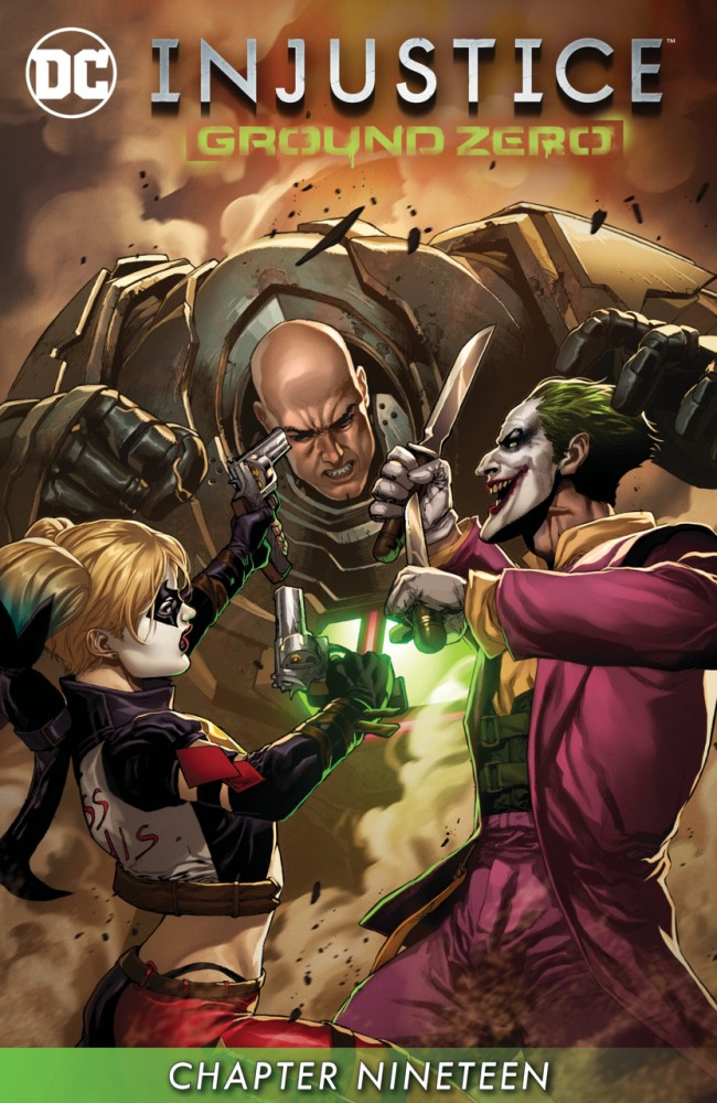 Injustice - Ground Zero #19