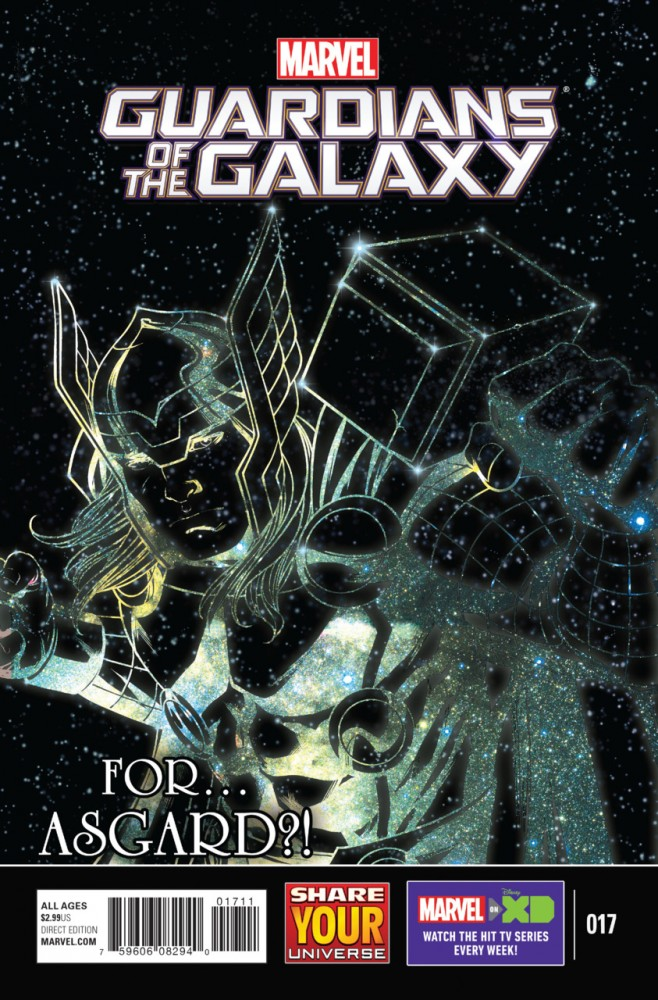 Marvel Universe - Guardians of the Galaxy #17