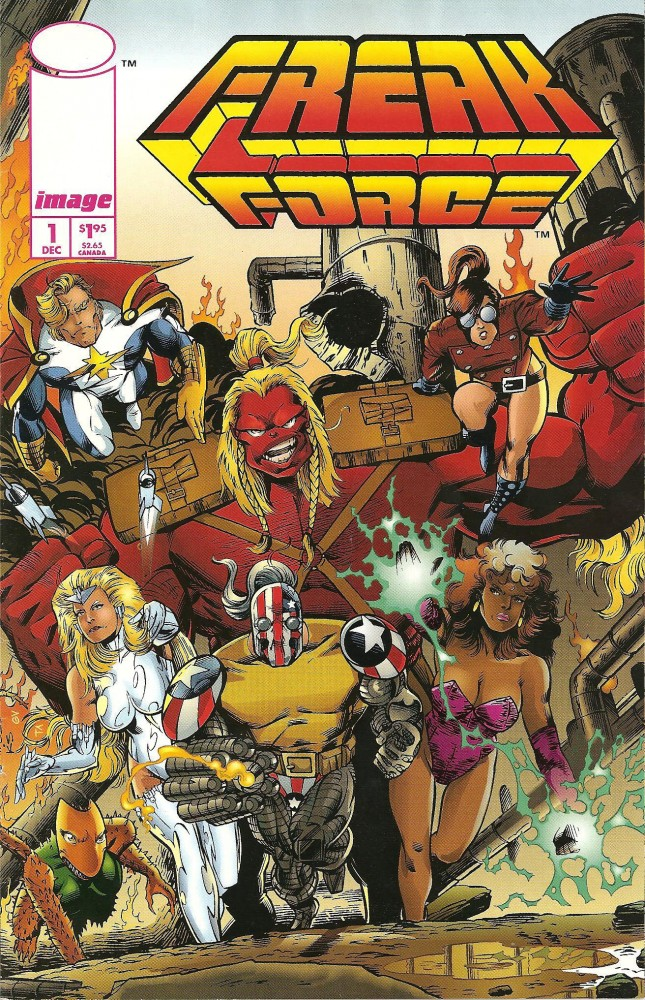 Freak Force vol.1 #1-18 Complete
