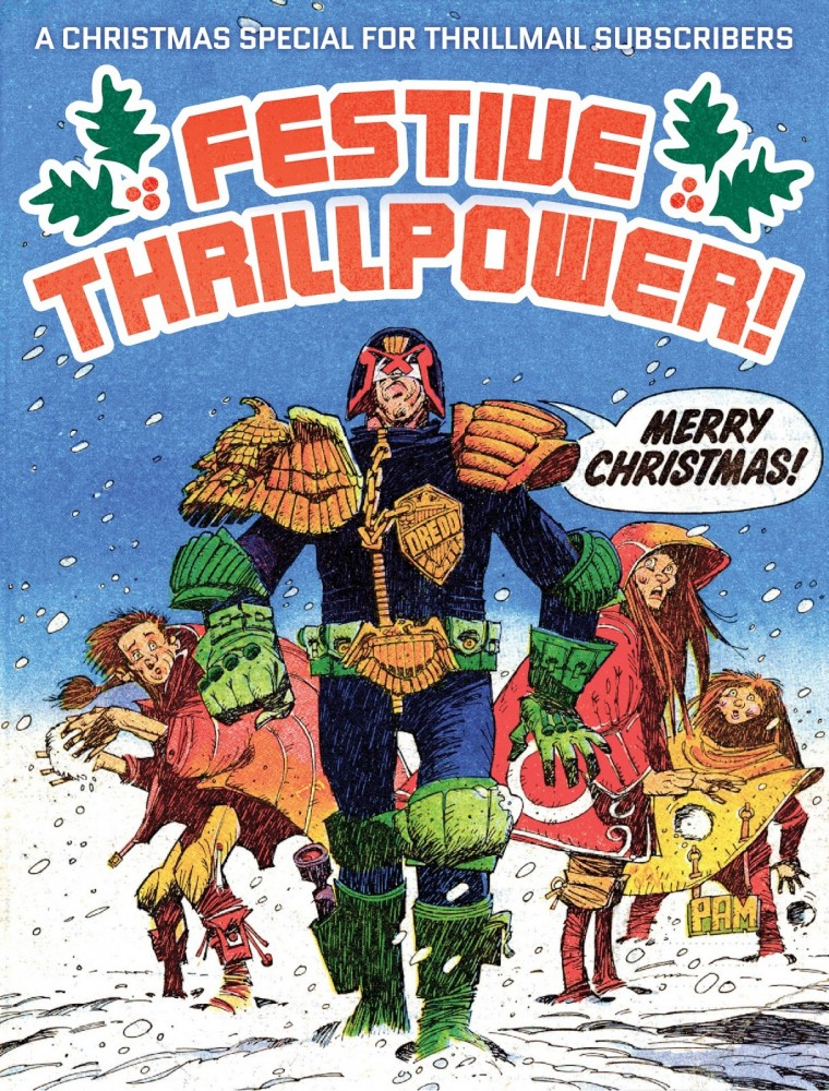 2000AD Festive Thrillpower