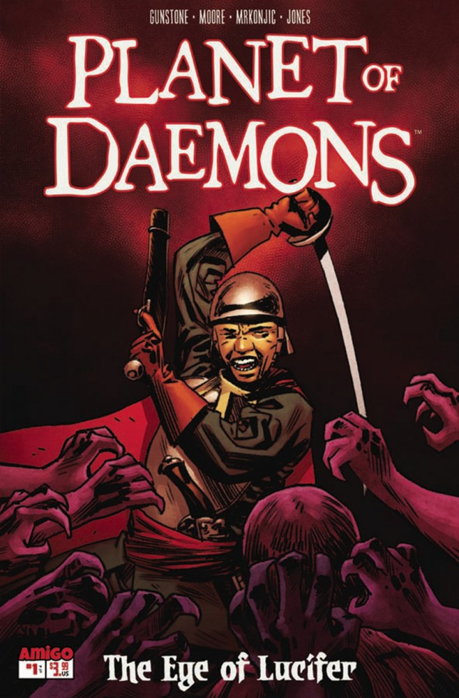 Planet of Daemons - The Eye of Lucifer #1