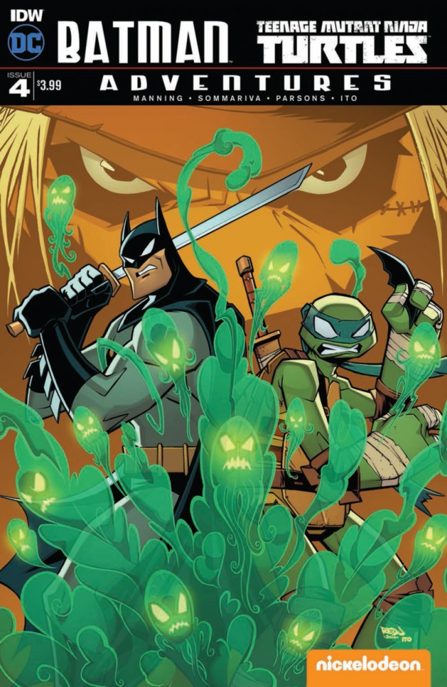 Batman - Teenage Mutant Ninja - Turtles Adventures #4