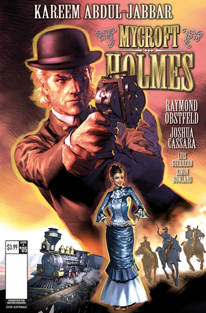 Mycroft Holmes and the Apocalypse Handbook #5