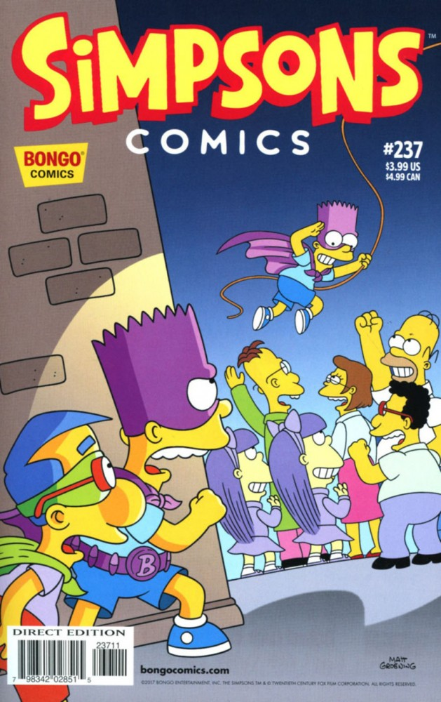Simpsons Comics #237