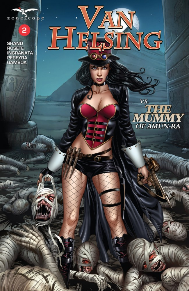 Van Helsing Vs The Mummy Of Amun-Ra #2