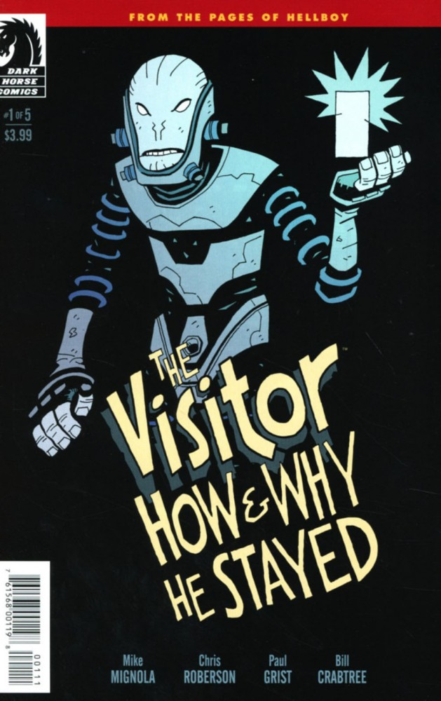 The Visitor - How and Why He Stayed #1