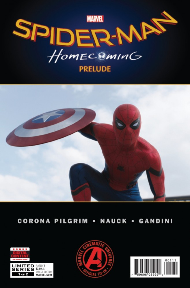 Spider-Man Homecoming Prelude #1