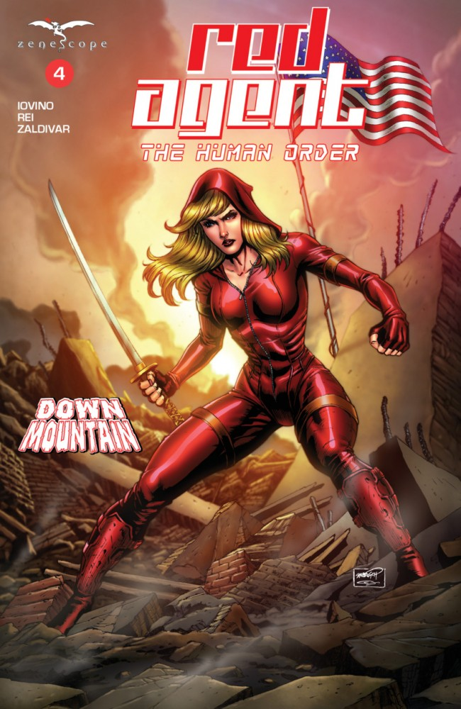 Grimm Fairy Tales Presents Red Agent The Human Order #4