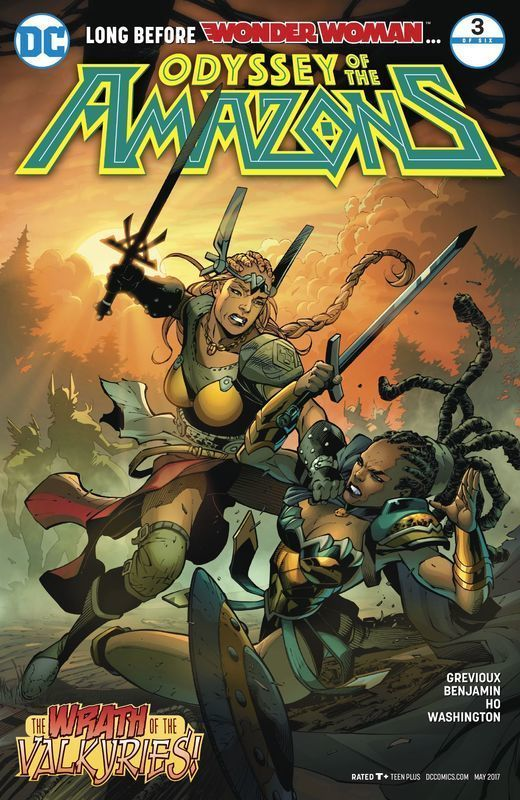The Odyssey of the Amazons #3