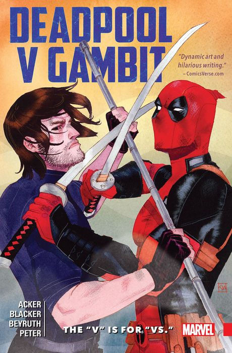 "Deadpool v Gambit - The ""V"" is for ""Vs."" #1 - TPB"