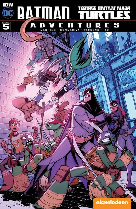Batman - Teenage Mutant Ninja - Turtles Adventures #5