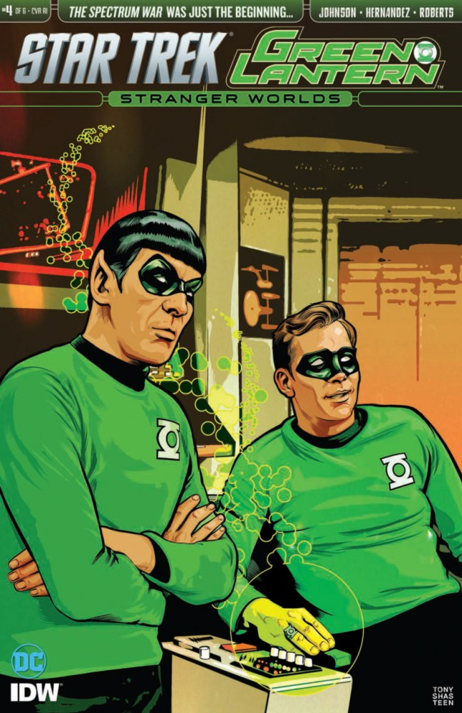 Star Trek - Green Lantern #4