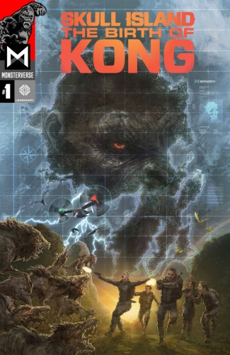 Skull Island - The Birth Of Kong #1