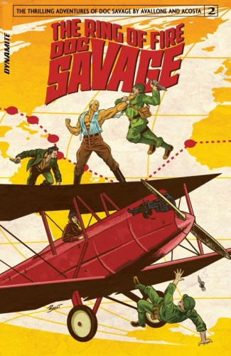 Doc Savage - The Ring of Fire #2