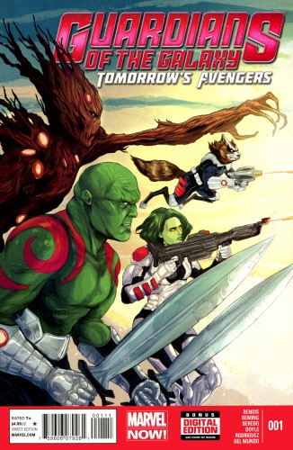 Guardians of the Galaxy - Tomorrow's Avengers #1