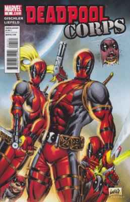 Deadpool Corps #1-12 Complete