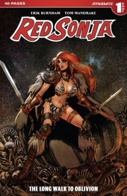 Red Sonja The Long Walk To Oblivion #1