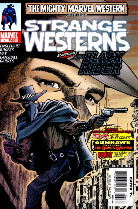Marvel Western - Strange Westerns starring the Black Rider