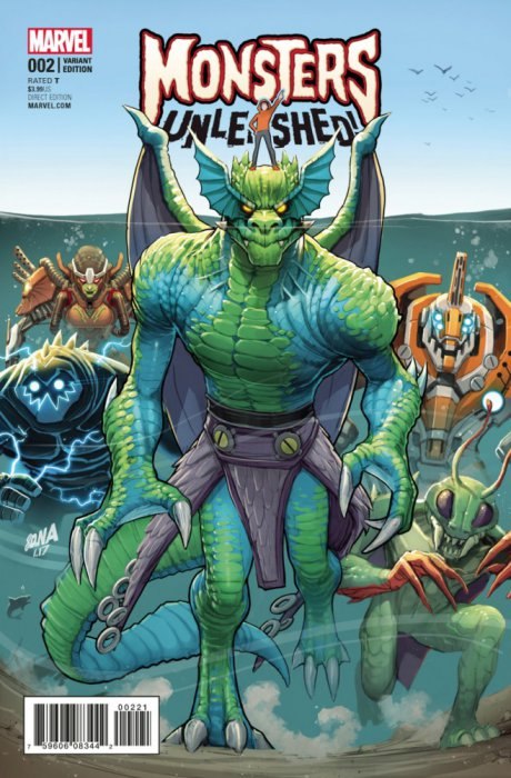 Monsters Unleashed Vol.2 #2