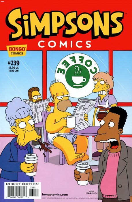 Simpsons Comics #239