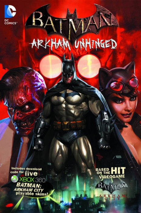 Batman - Arkham Unhinged Vol.1-4 Complete