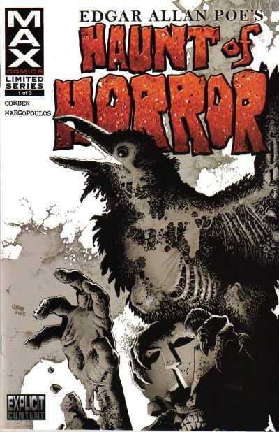 Haunt of Horror - Edgar Allan Poe #1-3 Complete