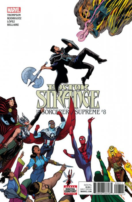 Doctor Strange and the Sorcerers Supreme #8
