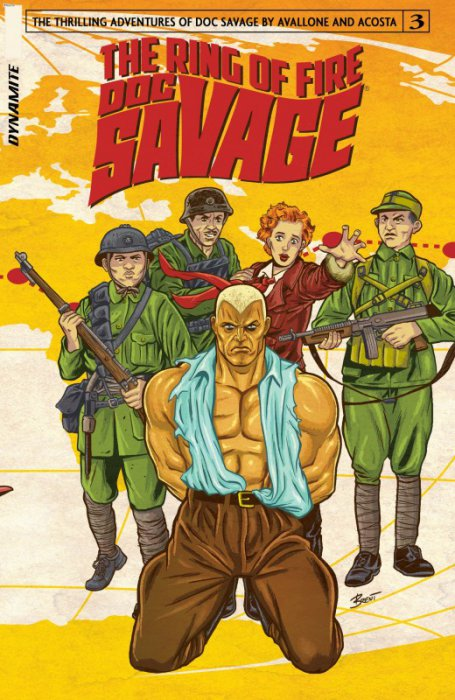 Doc Savage - The Ring of Fire #3