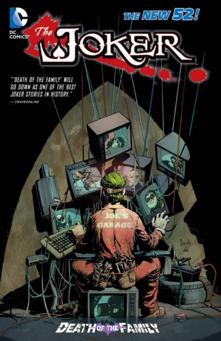 The Joker - Death of the Family #1 - HC/TPB