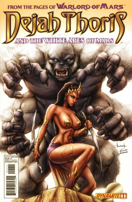 Dejah Thoris and the White Apes of Mars #1-4 Complete