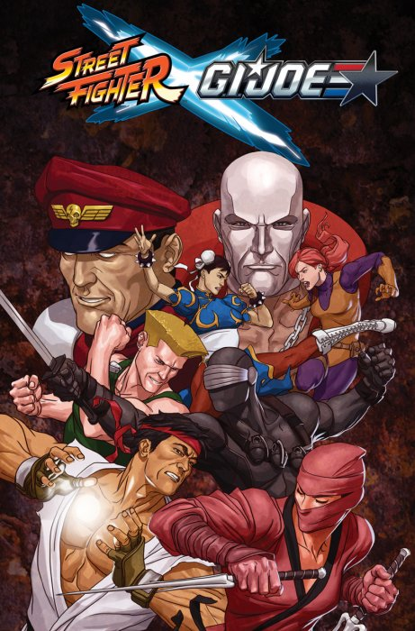 Street Fighter x G.I. Joe #1 - TPB
