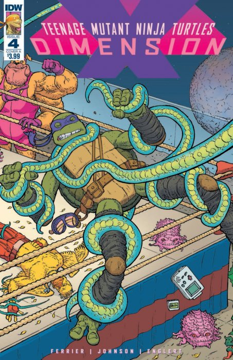 Teenage Mutant Ninja Turtles - Dimension X #4