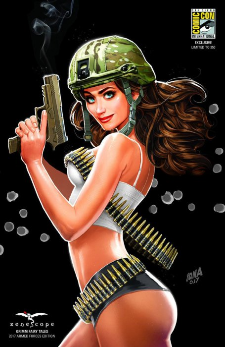 Grimm Fairy Tales Armed Forces Edition #1
