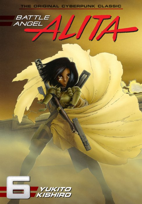 Battle Angel Alita Vol.1-6 Complete