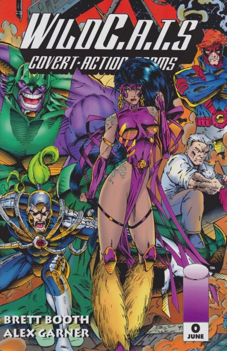 WildC.A.T.s - Covert Action Teams #0-12 Complete