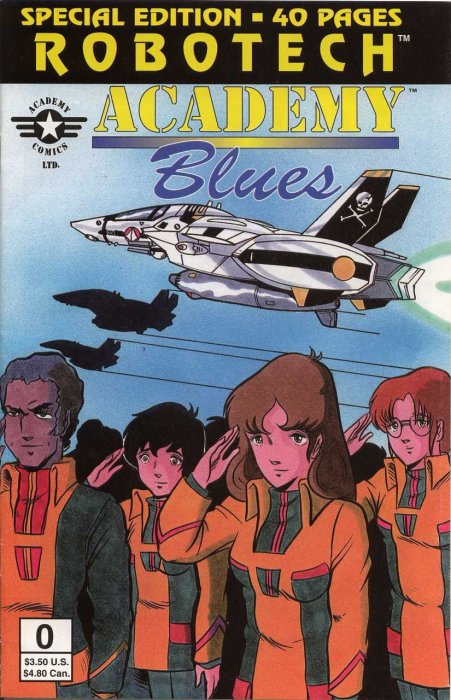 Robotech Academy Blues #0-5 Complete