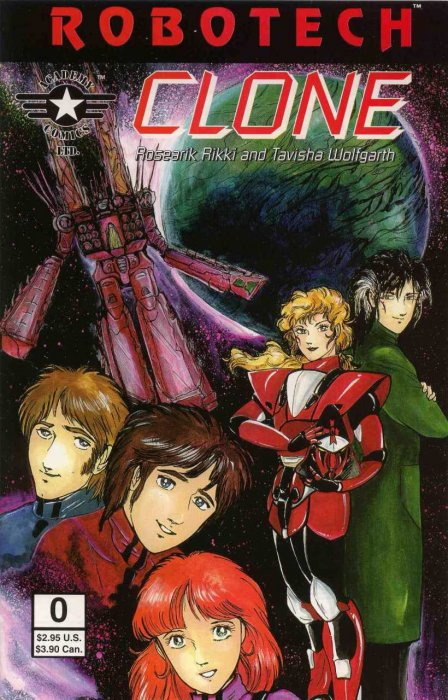 Robotech Clone #0-5 Complete