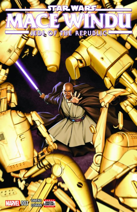 Star Wars - Jedi of the Republic - Mace Windu #1