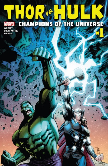 Thor vs. Hulk - Champions of the Universe #1