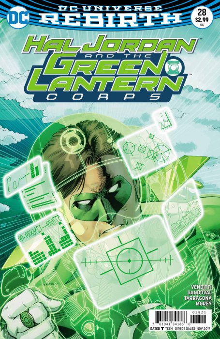 Hal Jordan And The Green Lantern Corps #28