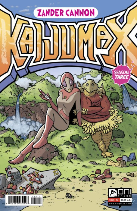 Kaijumax - Season Three #3