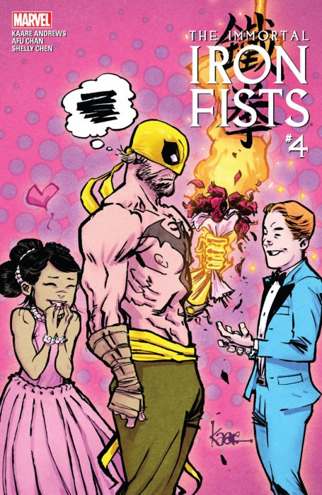 Immortal Iron Fists #4
