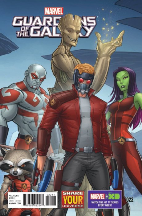 Marvel Universe - Guardians of the Galaxy #22