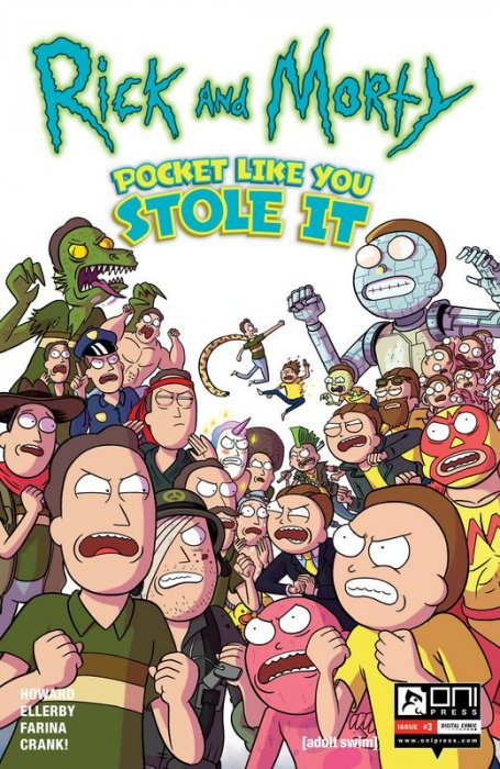 Rick and Morty - Pocket Like You Stole It #3