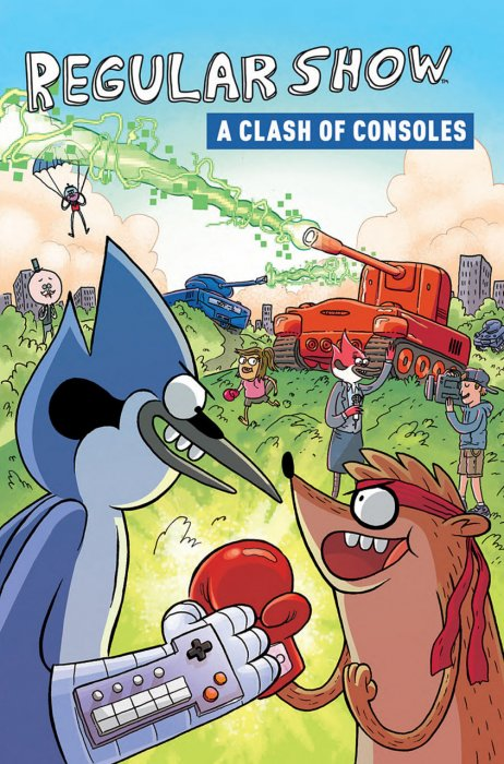Regular Show - A Clash of Consoles #1