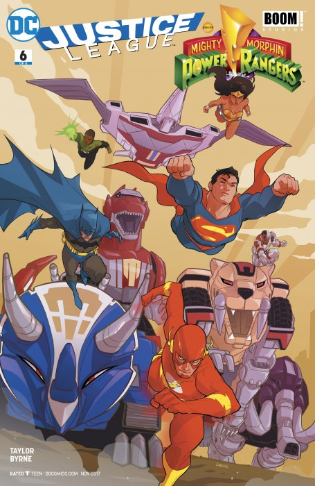 Justice League - Mighty Morphin' Power Rangers #6