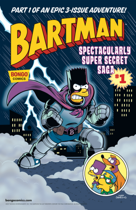 Bartman Spectacularly Super Secret Saga #1